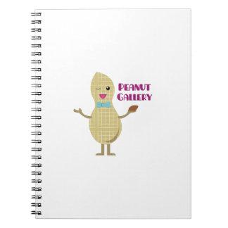 Peanut Gallery Spiral Notebook