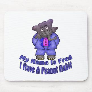 Peanut Habit Mouse Pad