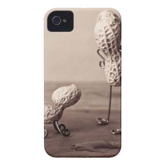 Peanut Man and Dog Case-Mate iPhone 4 Cases