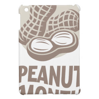 Peanut month - Appreciation Day iPad Mini Cover