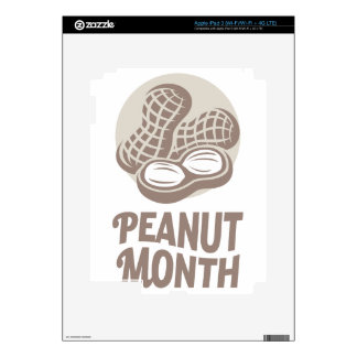 Peanut month - Appreciation Day Skins For iPad 3