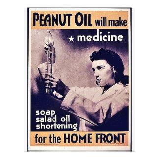 Peanut Oil Will Make Medicine Personalized Flyer