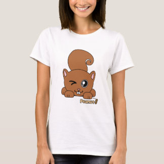 Peanut the Cute Squirell PudgiePet by Melody T-Shirt