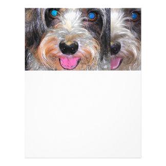 peanut the rescue dog letterhead