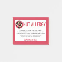 No nuts peanuts 180 allergy caution labels Peel /& Stick Personalized.