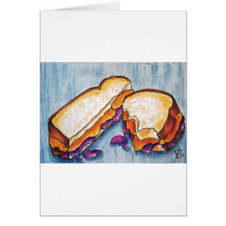 Peanutbutter and Jelly Card