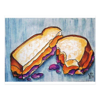 Peanutbutter and Jelly Postcard