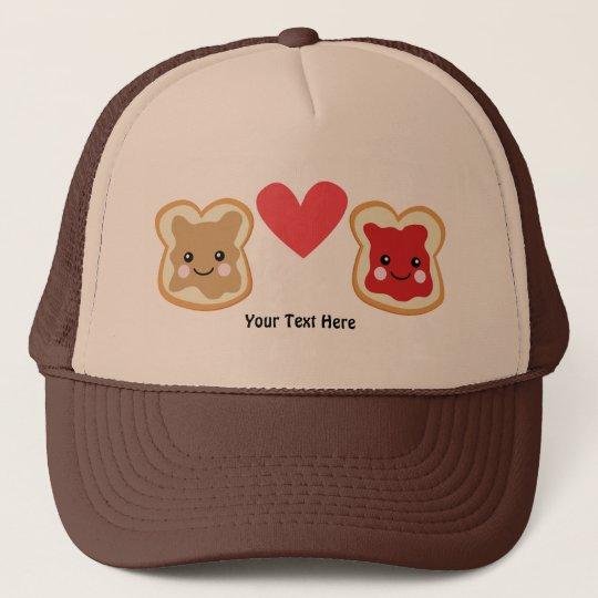 PeanutButter & Jelly (customizable) Trucker Hat