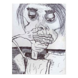 Peanuthead Vs. Reflux Postcard