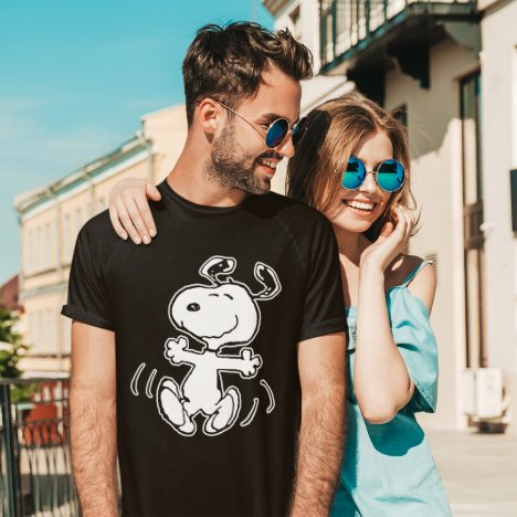 Peanuts | A Snoopy Happy Dance T-Shirt