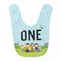 Peanuts | Charlie Brown and Gang Birthday - One Baby Bib