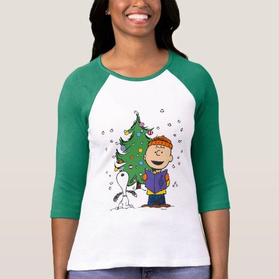 Peanuts | Christmas Caroling T-Shirt