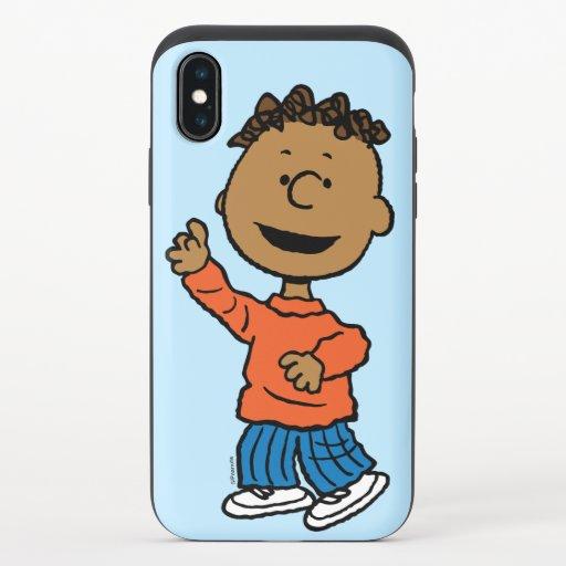Peanuts | Franklin iPhone X Slider Case