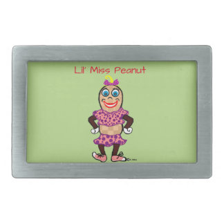 Peanuts Lil' Miss Peanut Belt Buckle