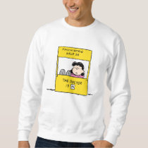 Peanuts | Lucy & the Doctor Is In Sweatshirt
