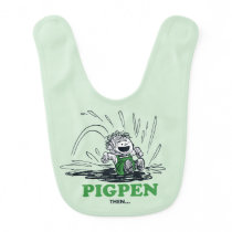 PEANUTS | Pig Pen Then & Now Baby Bib