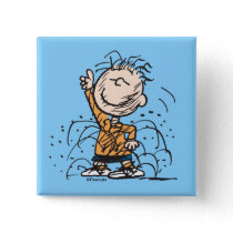 Peanuts   Pigpen Dancing Button