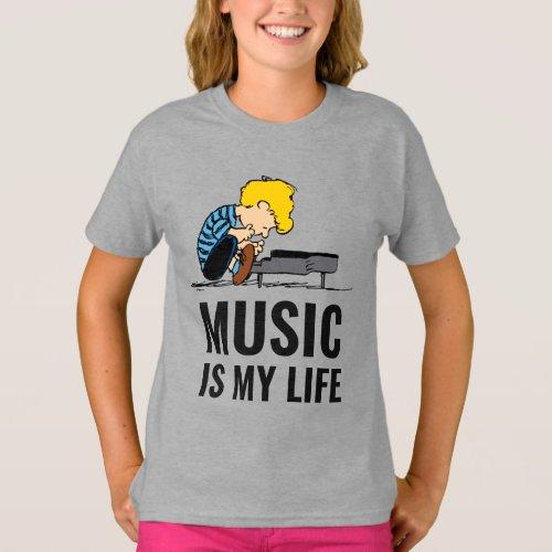 Peanuts  Schroeder T_Shirt