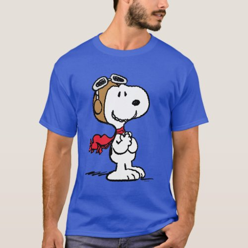 Peanuts  Snoopy The Flying Ace T_Shirt