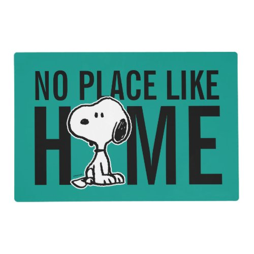 Peanuts | Snoopy Turns Placemat