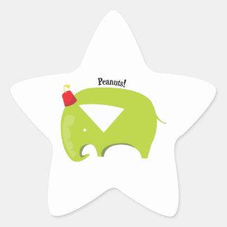 Peanuts! Star Stickers