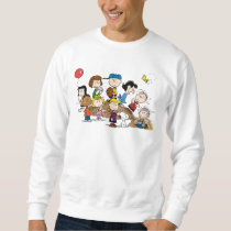 Peanuts | The Gang at the Pitcher's Mound Sweatshirt