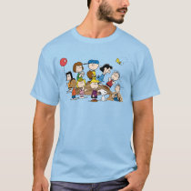 Peanuts | The Gang at the Pitcher's Mound T-Shirt