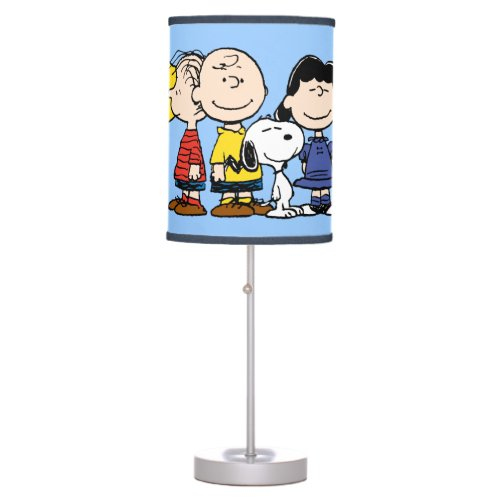 Peanuts   The Peanuts Gang Together Table Lamp