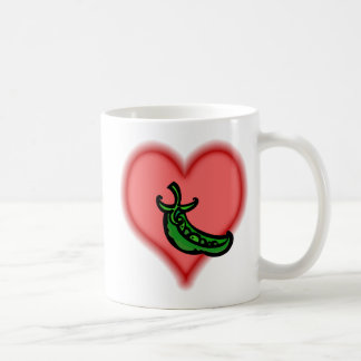 peapod coffee mug