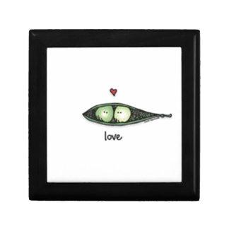 Peapod Love Jewelry Box