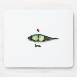 Peapod Love Mouse Pad