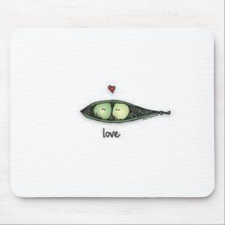 Peapod Love Mouse Pad