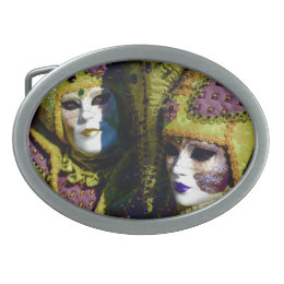 Pear and Antique Fuchsia Carnival Costumes Belt Buckle