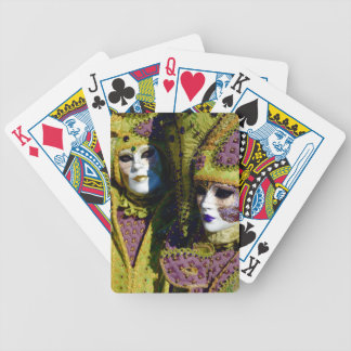 Pear and Antique Fuchsia Carnival Costumes Bicycle Playing Cards