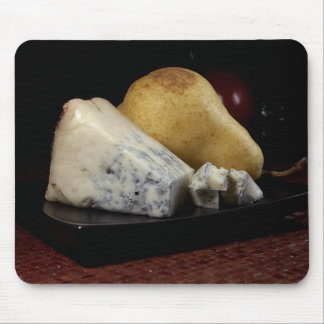 Pear and Blue Cheese Mouse Pad