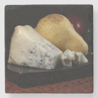Pear and Blue Cheese Stone Coaster