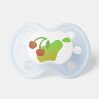 Pear and Cherry Pacifier