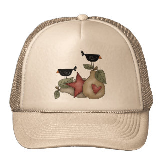 Pear And Crow Trucker Hat