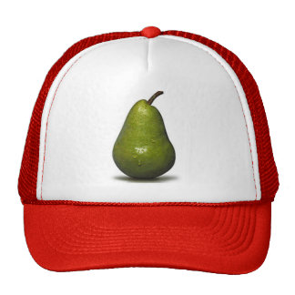 pear-bartlett trucker hat