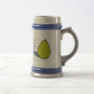 Pear Beer Stein