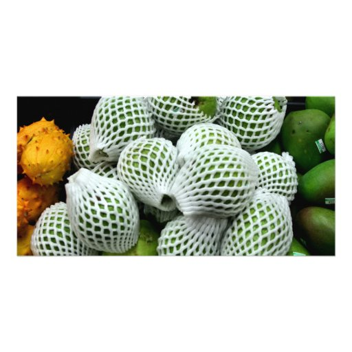 Pear Cactus Photo Card