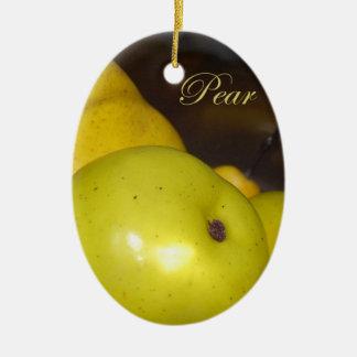 Pear Christmas Ornament