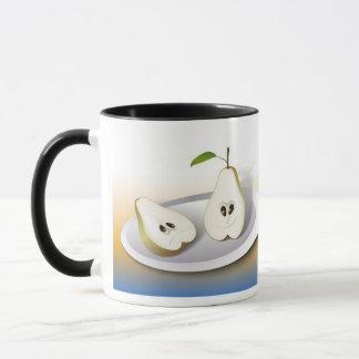 Pear Cut Cartoon Mug