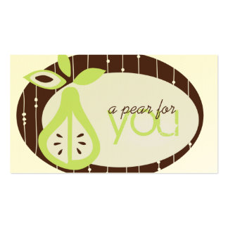 Pear For You Business Cards