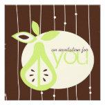 Pear For You Invitations