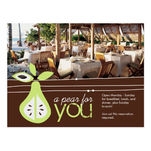 Pear For You Postcard