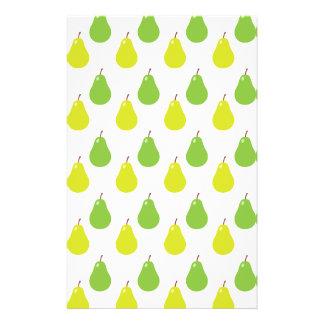 Pear Fruit Pattern Flyer