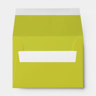 Pear Green A6 4x6 Blank Envelopes