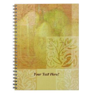 Pear Harmonies Notebook