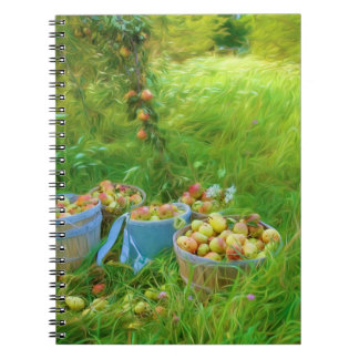 Pear Harvest Photo Notebook (80 Pages B&W)
